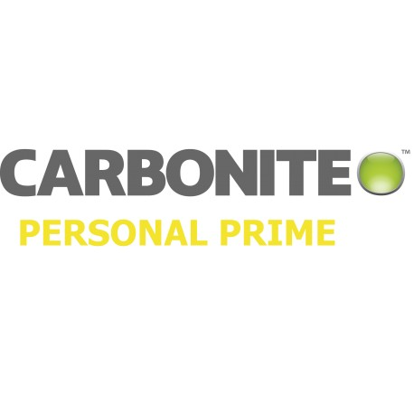 Carbonite Cloud Backup - Personal Prime